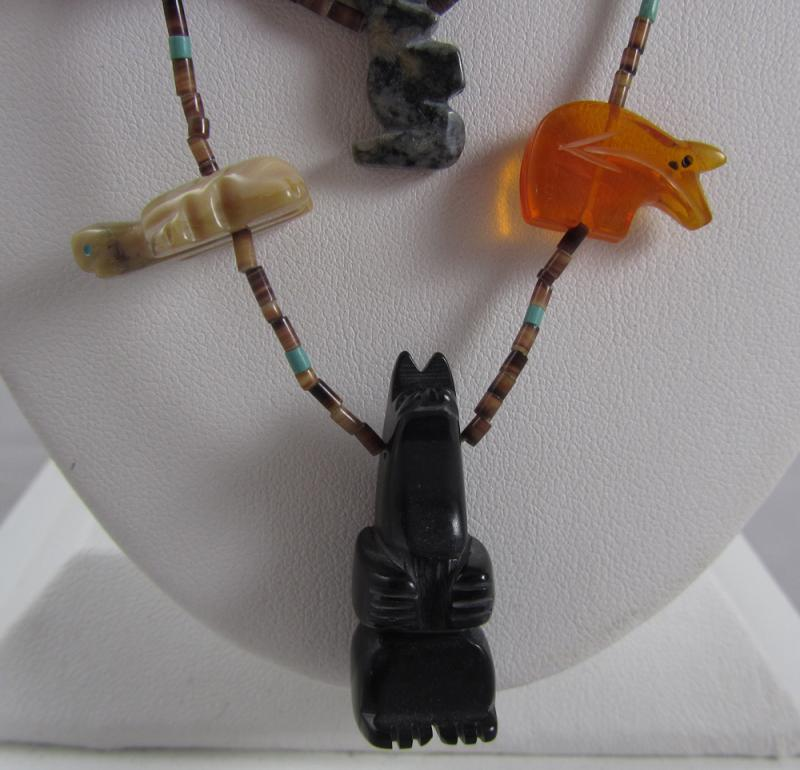 Navajo Bear Necklace