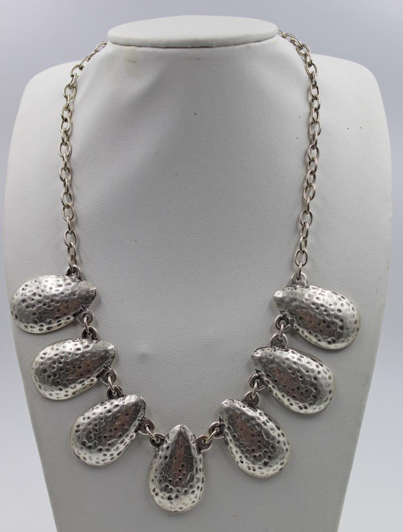 Turkish Jewelry Shell Look Necklace